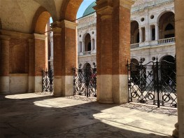 In the shadows of the Loggia del Capitanio - Vicenza, Italy | ©Tom Palladio Images