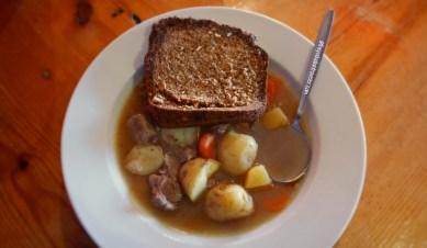 A bowl of piping-hot Irish stew, Kilkenny, Co. Kilkenny, Ireland