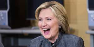 """Hilary Clinton tells supporters """"Stand up and resist"""""""