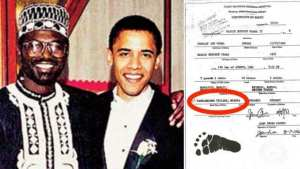 Malik Obama tweet contained forged birth certificate