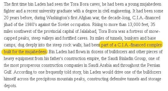 CIA tunnels