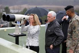 Pence stares down North Korea tells them strategic patience is over