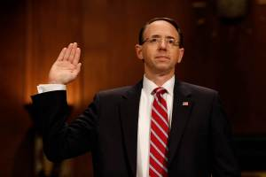 Deputy Attorney General Rod Rosenstein should be fired immediately