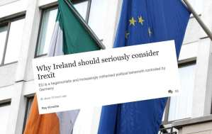 Westmonster: ECONOMIST LATEST TO CALL FOR IRELAND TO CONSIDER LEAVING EU