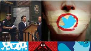 Twitter is beginning its censorship of The Palmieri Report
