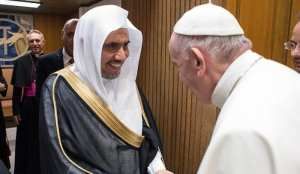 WHAT?: Pope Francis meets with leader tied to funding terrorism