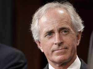 "Trump unleashes tweetstorm on ""incompetent"" Sen. Bob Corker"