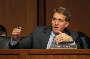 FAKE NEWS: Jeff Flake claims Gang of Eight bill would have ended VISA ​lottery program