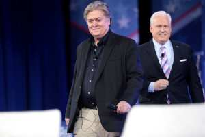 BADGER DOWN: Steve Bannon stepping down from Breitbart