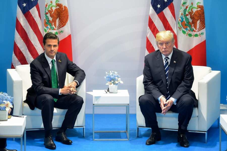 Trump stands firm: Mexico is paying for The Wall