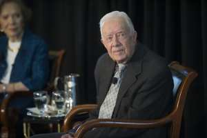 Former President Jimmy Carter defends Trump on Mueller, North Korea