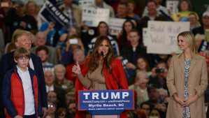Book: Melania Trump has sharp political instincts, got Trump to run for President