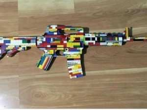 Police called to school after child makes LEGO gun