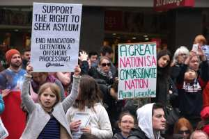 80% of asylum seekers end up not having legitimate case
