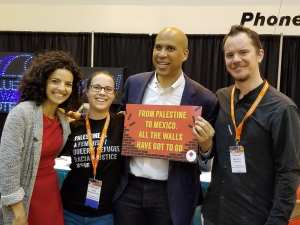 COREY BOOKER SIGN: All Walls have to go!