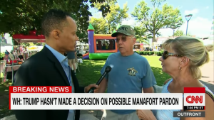 CNN STUNNED! Registered Dems say Manafort, Cohen is a 'sideshow'