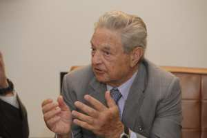 George Soros on McCain: brave warrior for human rights who stood up against repression and torture