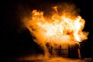GROSS! Arson burns down local Wyoming GOP headquarters