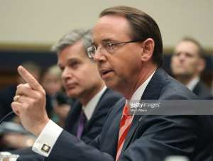 BREAKING! Rod Rosenstein cancels speech after White House meeting