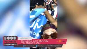 WATCH! Dems beat up gay Conservative who yelled 'You belong in Jail' to Obama at rally