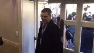 WATCH! MSM's HERO Acosta returns to WH