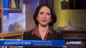 WaPo's Jennifer Rubin just pushed her craziest conspiracy theory yet
