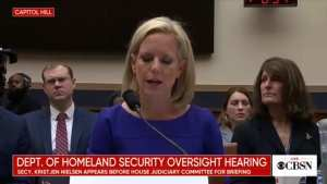 WATCH! Dem. Rep WALKS OUT after DHS Sec destroys him with facts