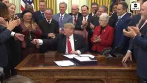 WATCH! Trump signs 'historic' FIRST STEP ACT
