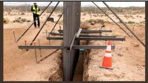 WOW! Trump Wall prototype stops tunneling as well