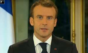Macron expresses support for COP24 climate agreement, while Yellow Vest protesters continue to riot