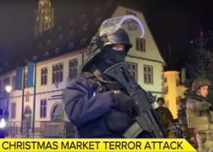 "Strasbourg Christmas market terrorist yelled ""Allahu Akbar"" during attack, and had 27 prior criminal convictions on his record"