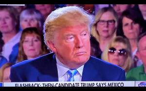 FLASHBACK-2016! Trump says Mexico would pay for the Wall through TRADE