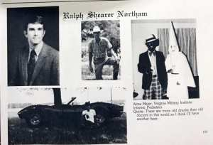 THREAD! Virginia Democrat yearbook shows man with blackface, KKK Robe