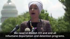 Ilhan Omar calls for decriminalization of illegal aliens crossing the border