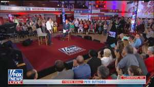 Fox's Chris Wallace throws softball Town Hall for Buttigieg