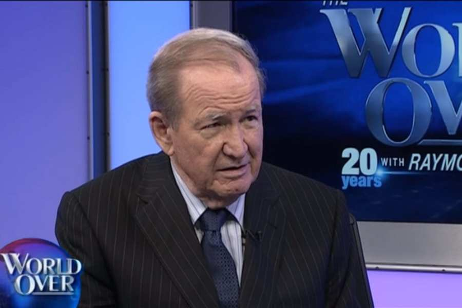 "Pat Buchanan warns Trump about war with Iran: Would become ""Trump's War"""