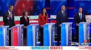DEMS GO WOKE: Dem candidates answer questions in Spanish