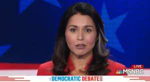 Dem Tulsi Gabbard tops Google searches during debate