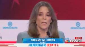 Marianne Williamson tops Google Search Results after debate