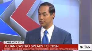 "Julian Castro was glad to see Nike take a stand against ""painful"" Betsy Ross Flag"
