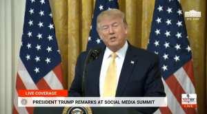 WATCH LIVE: Trump speaks at Social Media Summit