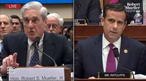 Trump's new DNI pick grilled Mueller last week during testimony