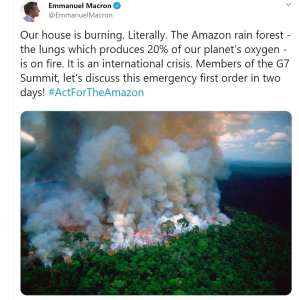 Viral photo of Amazon rainforest burning actually from 2003