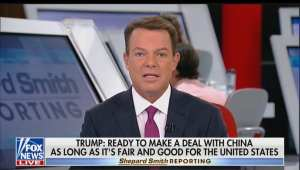 Shep Smith embarrasses himself Fact-Checking President Trump