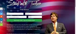 CLICK: Sign Petition to stand behind Tucker Carlson amid Boycotts