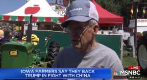 WATCH: Farmers express support for President Trump amid Trade War