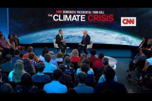 Climate Town Hall brings in higher than usual ratings for CNN, still last
