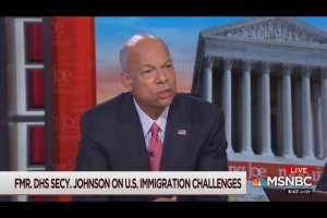 "Obama DHS Sec: decriminalizing illegal immigration means ""We lose control of our borders"""