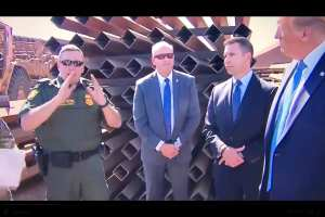 WATCH: Border Agent thanks Trump for Border Wall