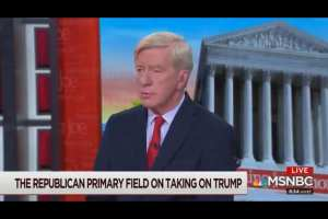"Weld suggests death penalty for Trump for committing ""Treason"""